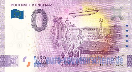 0 Euro Collector banknotes - XERC-2021-1 BODENSEE KONSTANZ