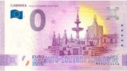 # 0 Euro Schein Spanien 2019 /· Benidorm /· Souvenir o Null /€ Banknote